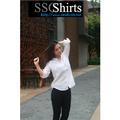 2014 100% de moda casual blusa de lino para blusa crochet