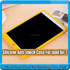Soft Silicone Rubber Gel Back Case Cover Shell anti-shock case for ipad air 2