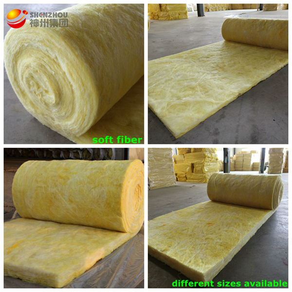 roof materials low conductivity high density glass wool board with direct export