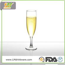 110ml plastic unbreakable Champagne glass