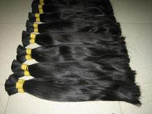 2014 hot sale Asia virgin hair , Natrual color unprocessed virgin human hai