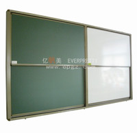 Magic Magnetic Writing Black Green White Board for Classroom