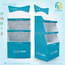 Cardboard advertising display stand,cardboard floor display stands for tiles