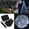 solar led holiday light, 72ft 200leds copper wire led holiday twinkle lights