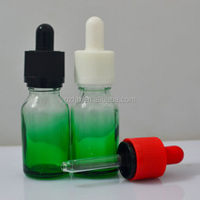 hot selling glass bottle mojito bottle bottle of green glass dropper bottle 15ml 0.5oz