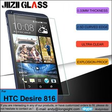 Jiizii Glass 9H 0.3mm HD Premium Real Tempered Glass Screen Protector Film Cover for HTC Desire 816