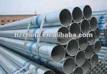 ASTM A53B SCH40 hot dipped galvanized seamless steel pipe