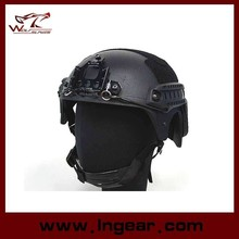 Wholesale IBH military camouflage helmet With NVG Mount & Side Rail Action Version Tactical Helmet