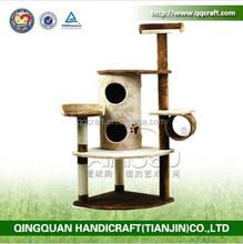 QQPET Factory Wholesale Pet Products Cat Tree Scratching Post