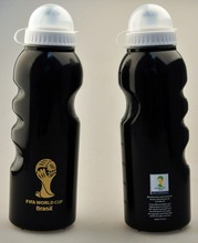 New Cycling Bike Bicycle 750ml Sports Water Bottle Black