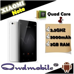 4G LTE XIAOMI Note Android Smartphone with Snapdragon 801 Quad Core 2.5GHZ 5.7 Inch JDI Screen 3GB 16GB