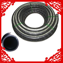 China best price synthetic or epdm corrugated surface steel wire cord layer or fabric laminate rubber suction and delivery hose