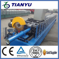 convenience goods the lastest model square steel down pipe roller former machine