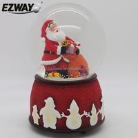 Alkyd resin polyresin baby snow globe