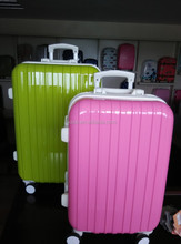 the hot sale pc printing luggage/ aluminum abs luggage/abs pc luggage