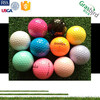 orange pink green purple red white blue rubber ball ladies golf ball