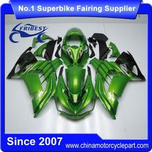 FFKKA024 China Fairings Motorcycle For ZX14R ZX 14R 2012 2013 2014 Green Flame