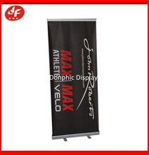 Trade show retractable aluminum roll up stand