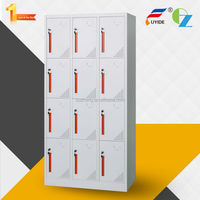 Excellent workmanship utility hot selling 12door steel locker wholesale price Office furniture