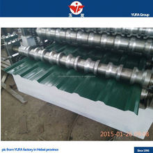 Color steel or galvanized steel coil automatic colored steel double layer roofing tiles forming line equipment