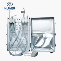 barato portatil unidad movil dental con un compresor de aire