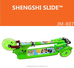 JM - 807 New Designs Three Wheels Kick Scooter For Kids +3 age