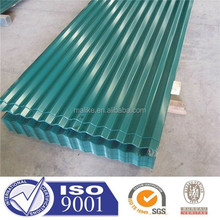 SGS certificated 0.16-0.8mm corrugated metal roofing sheets
