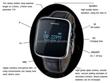skybillow wholesale Bluetooth Smart Wrist Watch with IOS Android for Samsung iPhone HTC LG