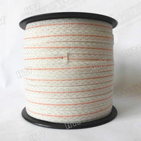 flexible electric fence polytape for pig fencing