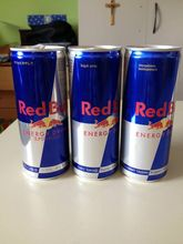 Austria Original Bull Energy Drink Red / Blue / Silver / Extra for sale..,-