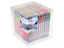 40 COLORS GEL PEN and GOOD QUALITY IN BARREL with competitive price