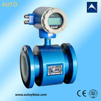 magnetic industrial waste/feed water/slurry flow meter,4-20mA output,rs485,mbus,hart
