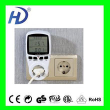 NETHERLANDS DIGITAL SINGLE TAFIFF ELECTRICA ENERGY METER THREE PHASE POWER METER SOCKET BIG LCD WITH CE GS ITEM PM001-G