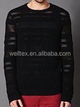 Men's transparent sweater