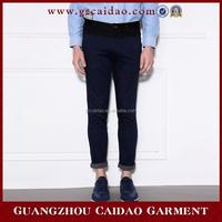 100% Cotton Men Business Casual Pants Wholesale Mens Slim Fit trousers
