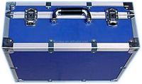 aluminum instrument case with telescopic handle aluminum cases