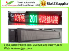 high brightness and good quality led sign for bus showing destination and route number