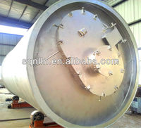 waste tyre pyrolysis plant with capacity 6-12ton