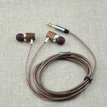 Winding Resistance Mobile With Micro Speaker Piston Deep Bass Wired Earphone
