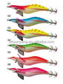 Calamar plantilla señuelos de pesca