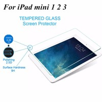 High Quality Tempered Glass Screen Protector For IPAD Mini 1 2 3 china wholesale tempered glass for ipad mini