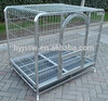 Steel square dog cage