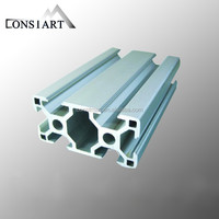 Aluminum Extrusion Enclosure Profiles matt anodized