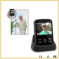 2015 hot sale wireless Visual intercom low wireless doorbell