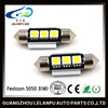 High Quality Festoon 5050 3SMD Led Auto Lamp Reading Light 12V Led Car Light Super Bright Bulb