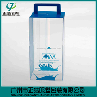 small size clear pvc nail polish package box with high quality