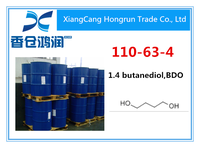 High quality 1,4-Butanediol CAS 110-63-4 in bulk stock, worldwide fast delivery