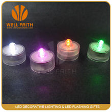 CE&RoHS Heatless Flameless Submersible Led floating candle Light