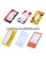 New Style fashion bookmarks magnifying glass bookmarks Magnifiers angel short plush animal bookmark OEM