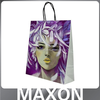 Guangdong Manufacturer colorful custom made shopping bags